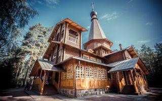 Храм серафима вырицкого, его жизнь в вырице и все, что связано с его именем