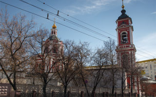 Храм вознесения господня за серпуховскими воротами: история, современное состояние и контакты
