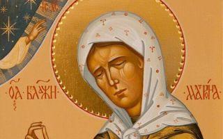 Акафист святой блаженной матроне московской, как читать дома, текст на русском
