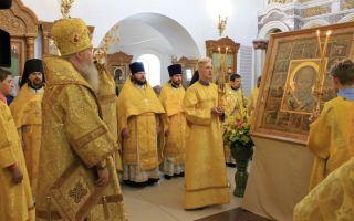 Рождество святителя николая чудотворца, история, празднование 11 августа в русской православной церкви