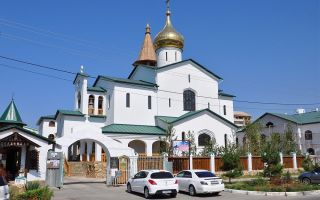 Церкви анапы: достопримечательности храма святого серафима саровского