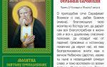 Серафим саровский: молитвы об исцелении и здравии на каждый день
