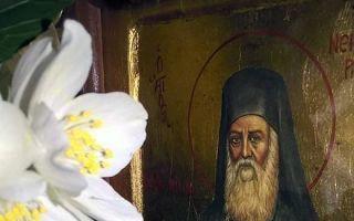 Молитва нектарию эгинскому