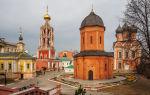 Действующие монастыри в москве: адрес, метро и режим работы, краткая история