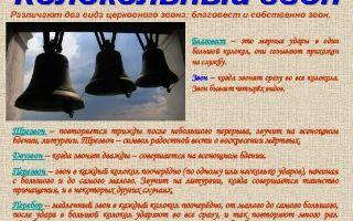 Звон церковных колоколов для очищения дома от негатива, виды колокольного звона их значение
