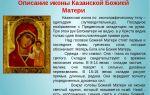 Казанская икона божий матери: ее описание и история, значение и в чем она помогает