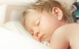 Православная молитва о младенце неспящем