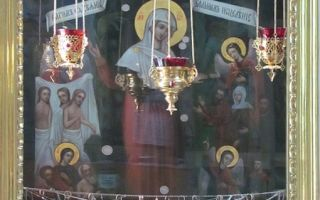 Канон покаянный ко пресвятой богородице читать на русском языке