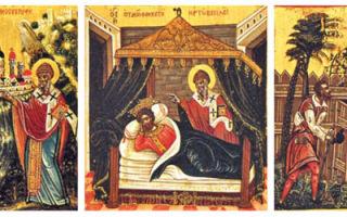 Помощь святого спиридона тримифунтского в наши дни, как просить