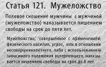 Мужеложство и мужеложцы с точки зрения православия и статей ук россии