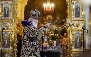 Что такое часы божественной литургии, когда проходит в церкви литургическая служба