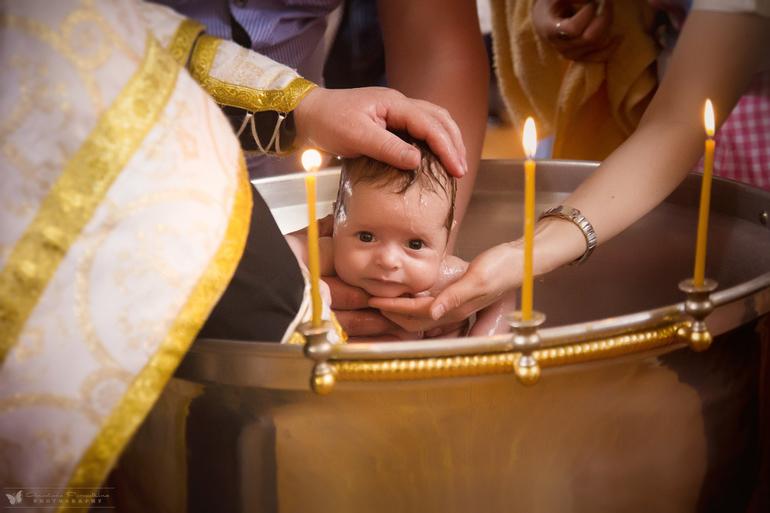 Картинка хрестини дитини