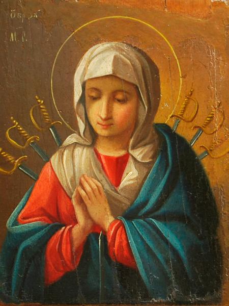 В чем помогает Семистрельная икона Божией Матери