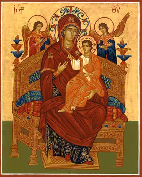 Икона пресвятой богородицы всецарица от чего защищает