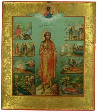 Акафист Марии Египетской