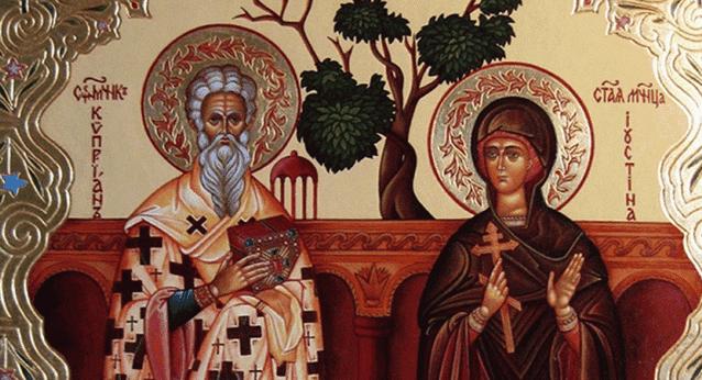 Молитва Киприану и Иустинии от колдовства, от порчи