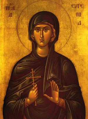 Святая Евгения икона