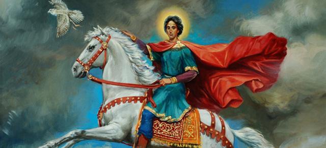 Молебен мученику Трифону