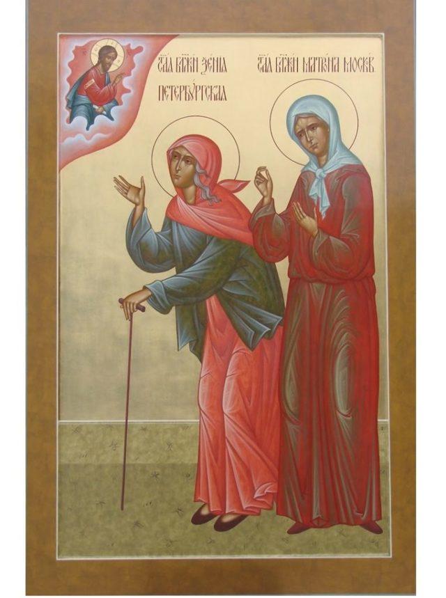 Молитва о благополучии в семье Матроне Московской, текст