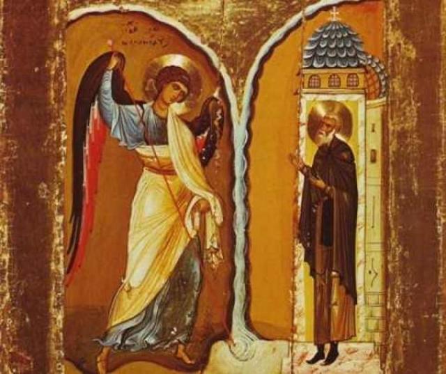 Молитва на паперти архангела Михаила