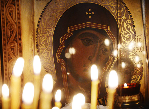 Материнская молитва о детях Богородице