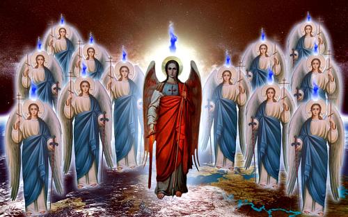 Молитва всем святым и силам бесплотным небесным