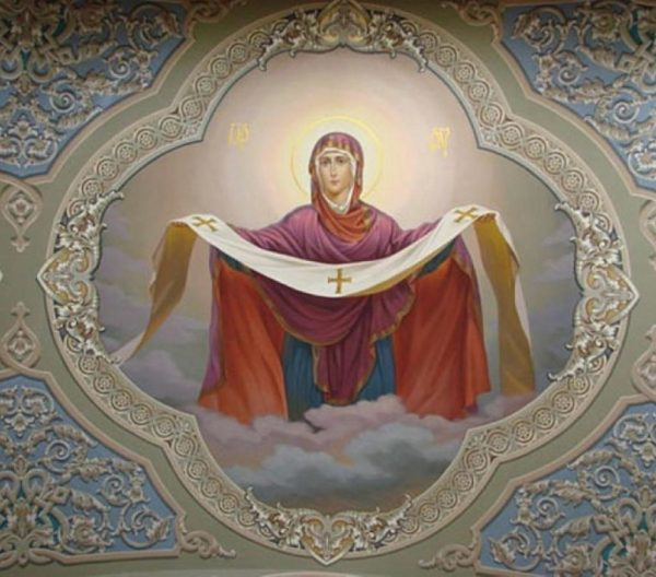 Молитва иконе Покрова Пресвятой Богородицы о чем молятся, в чем помогает