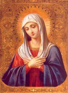 """Молитва Богородице """"Дево, радуйся, Благодатная Марие, Господь с Тобою"""""""