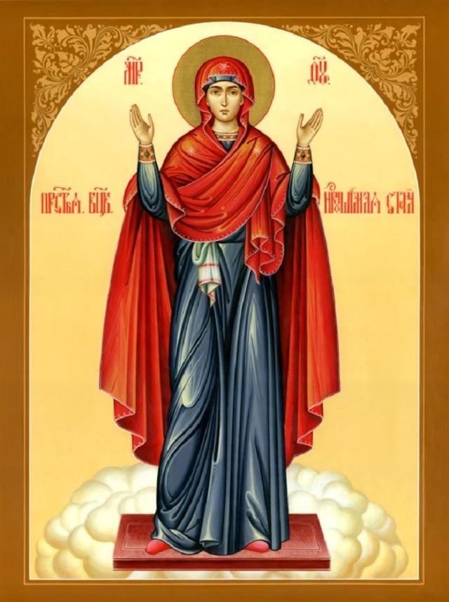 Молитва Пресвятой Богородице Всемилостивая Владычице, текст на русском