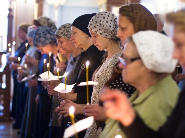 Как крестятся православные христиане справа налево или слева направо?