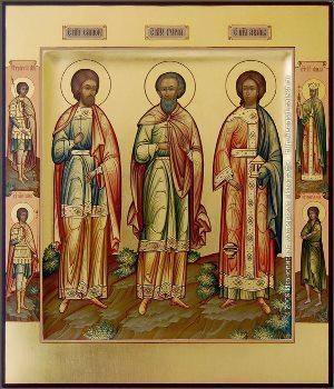 Молебен Гурию, Самону и Авиву