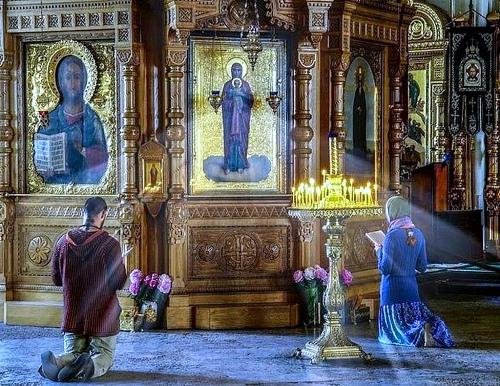 Молитвы Пречистой Богородице перед сном