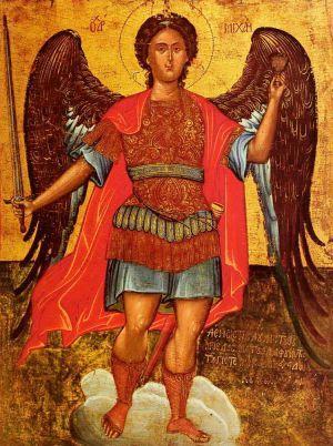 Оберегающая молитва архангелу Михаилу