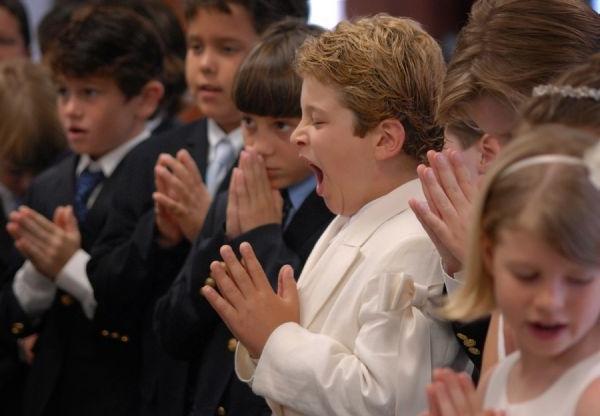 Зевота во время молитвы