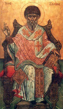 Благодарственная молитва Спиридону Тримифунтскому за помощь