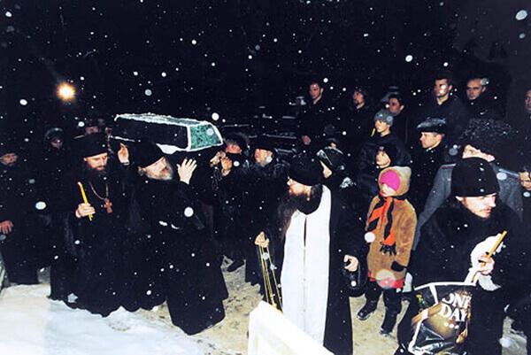 Могила Матроны Московской на Даниловском кладбище, адрес