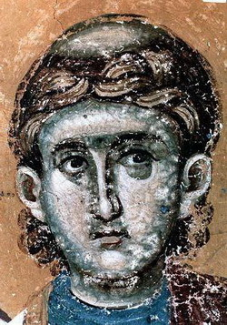 Преподобный Роман Сладкопевец, икона