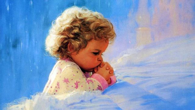 Сильная помогающая молитва о выздоровлении ребенка