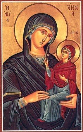 Молитвы Святой Анне Матери Богородицы, текст на русском