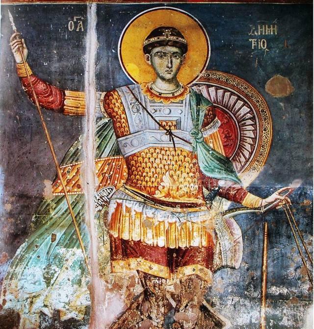 Икона Дмитрия Солунского