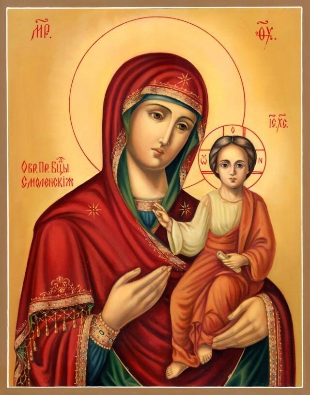 Пяточисленные молитвы ко Пресвятой Богородице, текст на русском