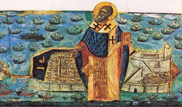 Житие святителя Спиридона Тримифунтского кратко