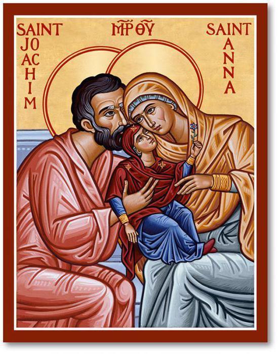 Икона Иоакима и Анны
