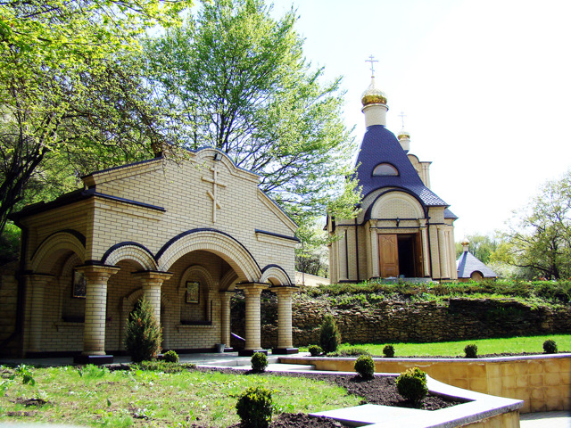 Святой источник Серафима Саровского в Дивеево