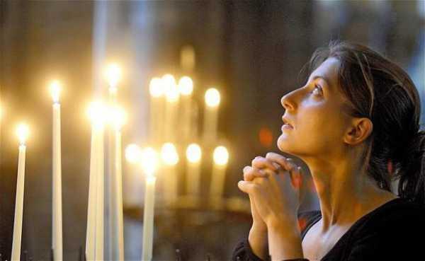 Молитва от одиночества женщине