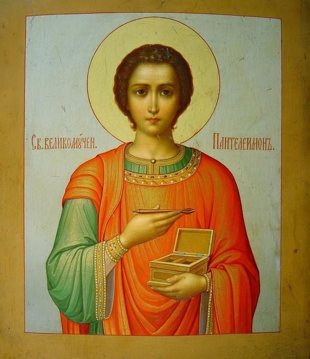 Молитвы об исцелении в болезнях Пантелеймону целителю