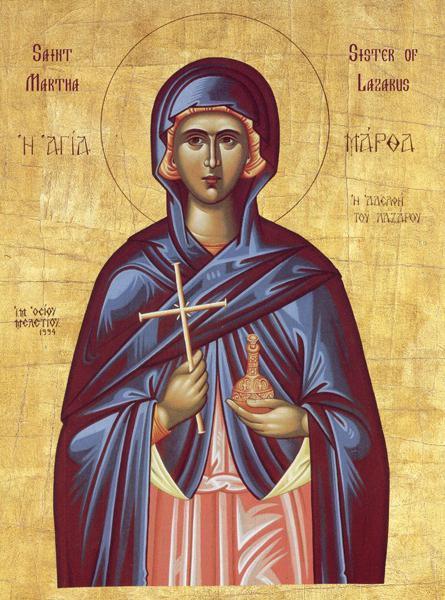 Икона Святой Марты, как молиться, в чем помогает